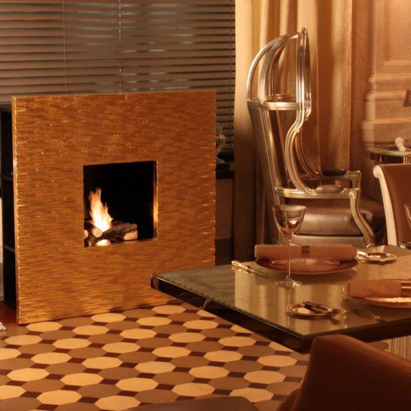 Портал биокамин Wallfire Gold, Art Flame